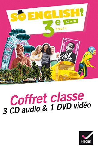 So English! - Anglais 3e Éd. 2017 - Coffret CD/DVD classe