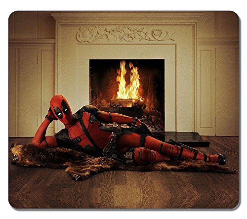 Preisvergleich Produktbild Customized Rectangle Non-Slip Rubber Large Mousepad Gaming Mouse Pad Deadpool Poster 3 Water Resistent Large Mousepad Gaming Pad Large Mouse Pads