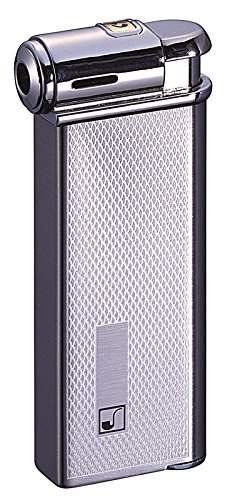Sarome Elektronischer Piezo Pfeifenfeuerzeug PSP - 10, silber, Set, 2-farbig, Motor Schalten