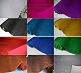 Fabrics-City % EVA MOOSGUMMI GLITTER BASTELSTOFF METERWARE 2MM STOFF STOFFE, 4232 (Gold)