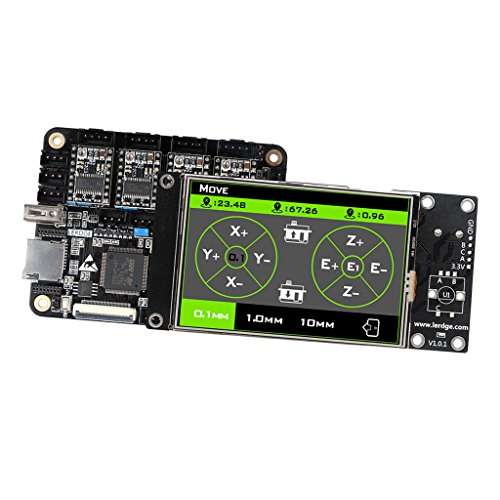 Baoblaze DRV8825 3D Drucker Motherboard Controller-Modul A4988 Treiber Drucker LCD Bildschirm Display mit Netzkabel für 3D-Drucker (Druckkopf-netzkabel)