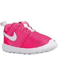 Nike Roshe One Scarpe da ginnastica, per bambini, rosa/bianco