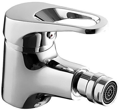 Bidet Stand Waschbeckenarmatur Mischbatterie Wasserhahn Badezimmer WC b396