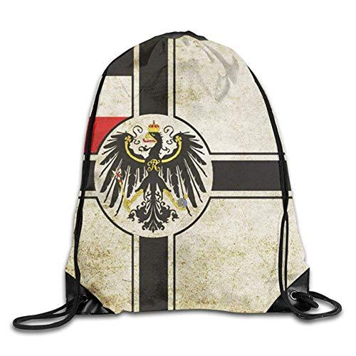 JMAKI Flag of Germany Backpack Draw Gymbag Sporttasche Gymtasche Turnbeutel Beutelrucksack Rucksack Sport Bodybuilding