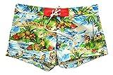 Dsquared Costume da Bagno Uomo Boxer Corto D7B622090.340 Hawaii Swim Shorts TG. 48 IT