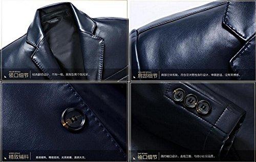 Automne Jzwxx Luxe Boutonnage Blazer Hommes Costume Printemps Simple qwvw1E6P