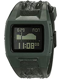 Nixon Lowdown II Surplus Not Croc A2892014-00 - Reloj unisex, correa de plástico color gris