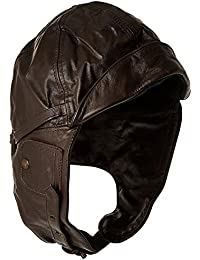 Flight Leather Hood Black