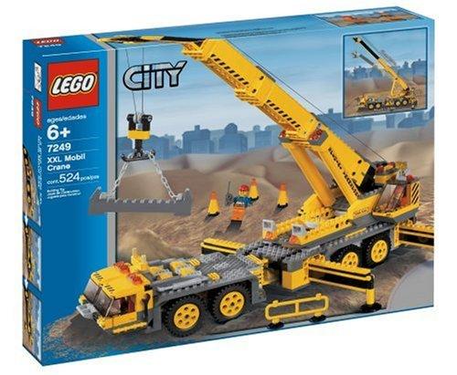 Preisvergleich Produktbild LEGO City 7249 Mobiler Baukran NEU OVP