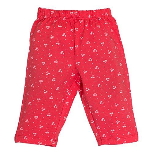 SALT AND PEPPER Baby - Mädchen Shorts B Capri Juicy allover 73214224, Gr. 86, Rosa (hibiscus 335)