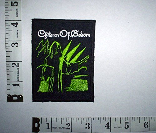 Children of Bodom Iron on/Sew on Patch toppa in tessuto ricamato DIY Badge Aufnäher