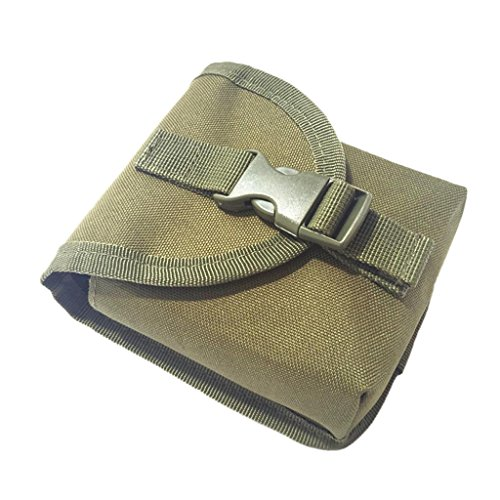 Sharplace Bolsillo Durable de Almacenamiento para Cinturón de Peso de Buceo - Verde