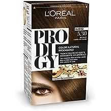 L'Oréal Prodigy Coloración Sin Amoniaco, Tono: 5.30 Castaño claro dorado Bronce