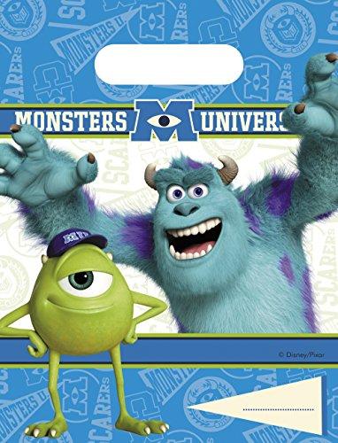 Disney Monsters University Party Bags, Multi Color