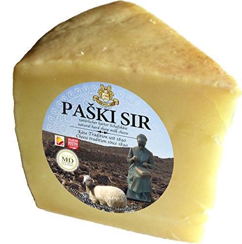 PAGER KÄSE - PAŠKI SIR Schafskäse min 300g Laktosefrei - veredelt mit dem Meersalz aus der Saline von Pag