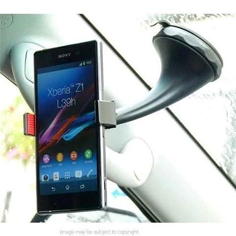Twist 'n'Lock-Spring-Grip caoutchouc-Lip voiture avec ventouse pour Sony Xperia Z1 L39H