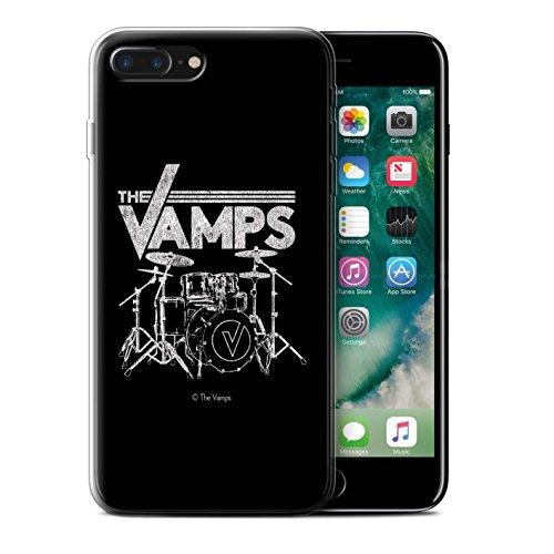 Officiel The Vamps Coque / Etui Gel TPU pour Apple iPhone 7 Plus / Réveillez-Vous! Design / The Vamps Graffiti Logo Groupe Collection Batterie