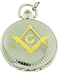 Boxx m5099.08–Pocket watch metal strap, silver