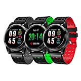 Reloj Inteligente, Smartwatch Con Pulsómetro, Impermeable Ip68 Reloj Inteligente, Fitness Tracker...