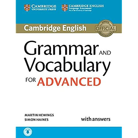 Grammar and Vocabulary for Advanced Book with Answers and Audio downloadable (Cambridge Grammar for