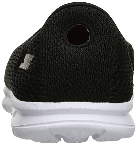 Skechers Performance Go Step Maj Walking Shoe Black/White