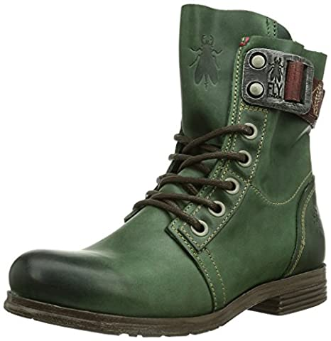 Fly London STAY, Boots biker femme - Vert - vert - 36 (UK 3)