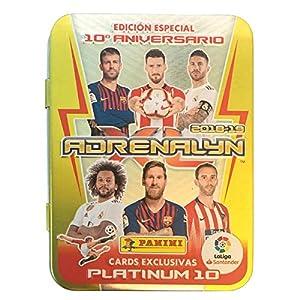 Panini 003714TINSE Compact Box 10 Years Adrenalyn 2018-2019