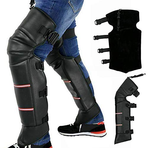 Gizayen Knee Support Brace 1 Pair Anti-Wind Warm Motorcycle Knee Cover Thicken for Women Men Winter Outdoor Motorcycle Bike Ski Running Basketball Weightlifting, Knee Support for Arthritis
