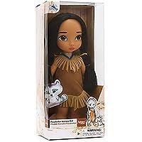 Official Disney Pocahontas 39cm Animator Toddler Doll With Meeko Plush