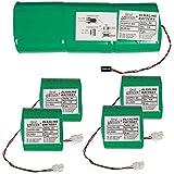 First innov - dsp80-s6 - Batteries d'origine 1x9v et 4x3v 18a/h pour alarme primaprotect