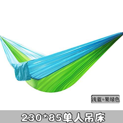 QER-Viaggiare in campeggio amaca amaca Outdoor ultra light parachute panno esterni amaca singola do