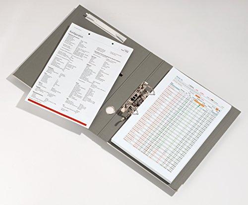 Durable Flexifix - Tiras perforadas autoadhesivas, 10 unidades, color blanco