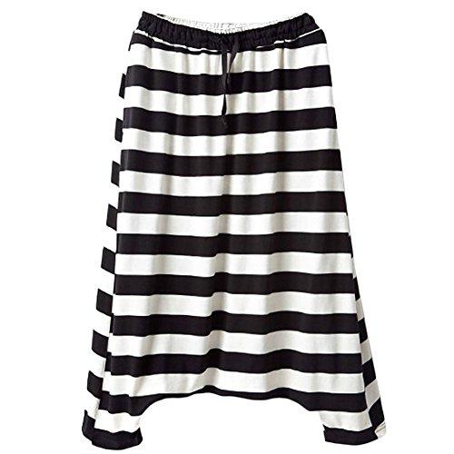 Tidecc Womens Ladies Harem Pantalones Drop Low Entrepierna