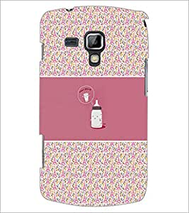 Printdhaba Funny Image D-4156 Back Case Cover For Samsung Galaxy S Duos S7562