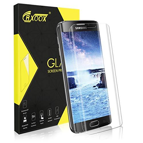1 Stück Schutzfolie für Samsung Galaxy S6 Edge, 9H Härtegrad & Anti-Kratzer, [3D Full Coverage] Panzerglas Bildschirmschutz für Samsung Galaxy S6 Edge - Empfindliche Berührung & Infach Installieren