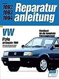 Reparaturanleitung VW Polo ab Baujahr 1988 bis 1991. 1,05- und 1,3- Liter- Einspritzmotor. Handbuch für die komplette Fahrzeugtechnik.