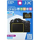 JJC LCP-RX10 ultra hard polycarbonate LCD Film Screen Protector For Sony RX10(2 Kits)
