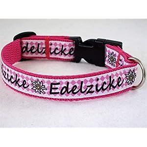 """Halsband""""Edelzicke"""" Größe XS von ca.22cm bis 30 cm Halsumfang"""