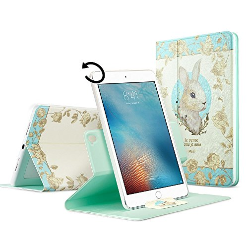 iPad-Pro-97-Case-ESR-Pattern-PU-Leather-360-Degree-Rotating-Stand-Case