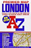 London Premier Map (A-Z Premier Street Maps)
