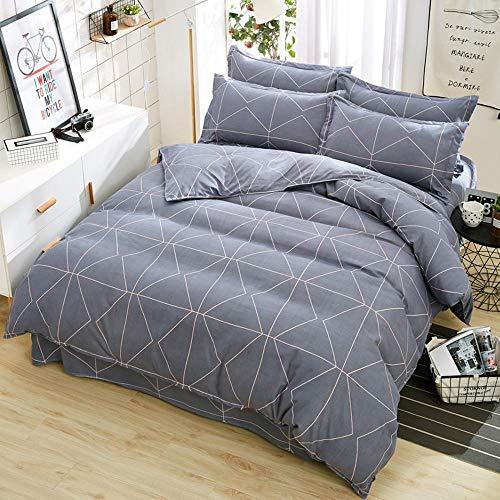 Kaschmir Twin-set (Sxuefang Bettwäsche-Set von 4 Home Textile Bettwäsche Verdickt, Vier Stück Set Anlage Kaschmir Baumwolle Blatt Quilt Decken)