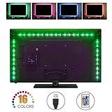 Streifen LED TV, coskip RGB 50502M Wasserdicht für TV und Monitor PC mit USB-Kabel mehrfarbig