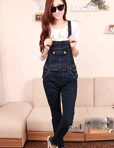 GSP-Pantalon Aux femmes Sexy / Décontracté Toile de jean dark blue-l