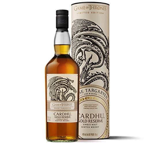 Cardhu Gold Reserve - Whisky escocés puro de malta - Edición limitada Juego de Tronos: Casa Targaryen - 700 ml