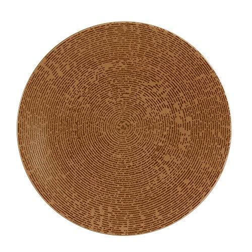 Table Passion - Assiette plate artist cuivre 27 cm (lot de 6)