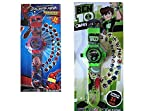 Spiderman-Ben10 Kids Projector Watch Set Of 02-FM