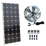 DCHOUSE Solar Power Attic Gable Fan - 100 - Best Reviews Guide