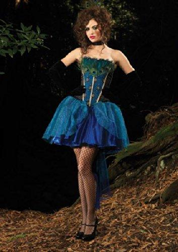 Leg Avenue Deluxe - Deluxe Peacock Princess,