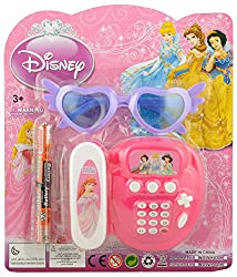 Diamond Era Disney Phone Set With Goggle (2AA Battery Included), Multi