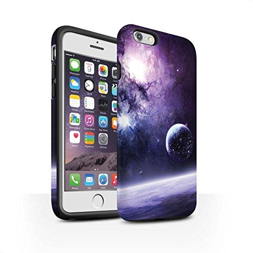 Offiziell Chris Cold Hülle / Matte Harten Stoßfest Case für Apple iPhone 6S / Pack 12pcs Muster / Fremden Welt Kosmos Kollektion Planet/Mond